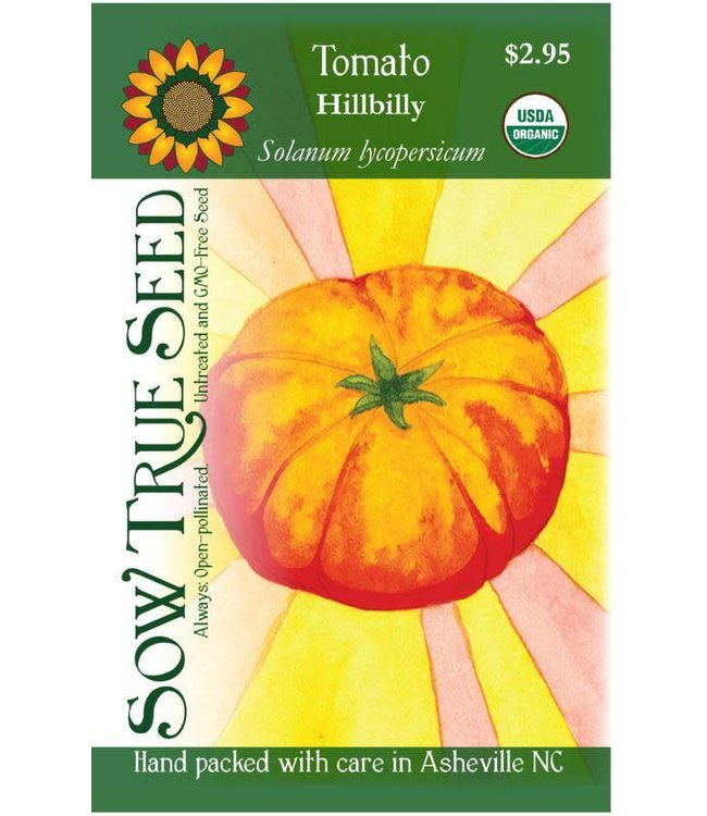 Sow True Seed Tomato - Hillbilly Organic