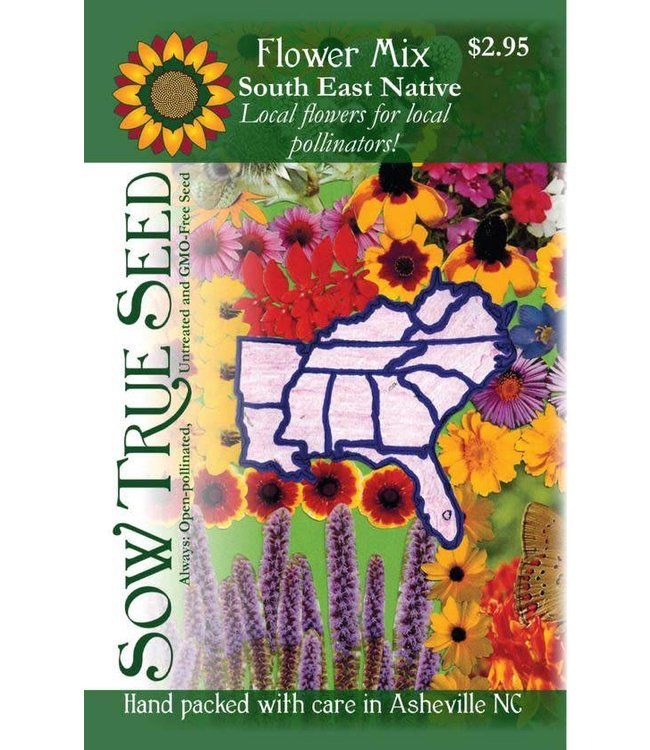 Sow True Seed Flower Mix - South East Native