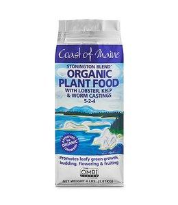 Stonington Blend Organic Plant Food (5-2-4) 4 lbs
