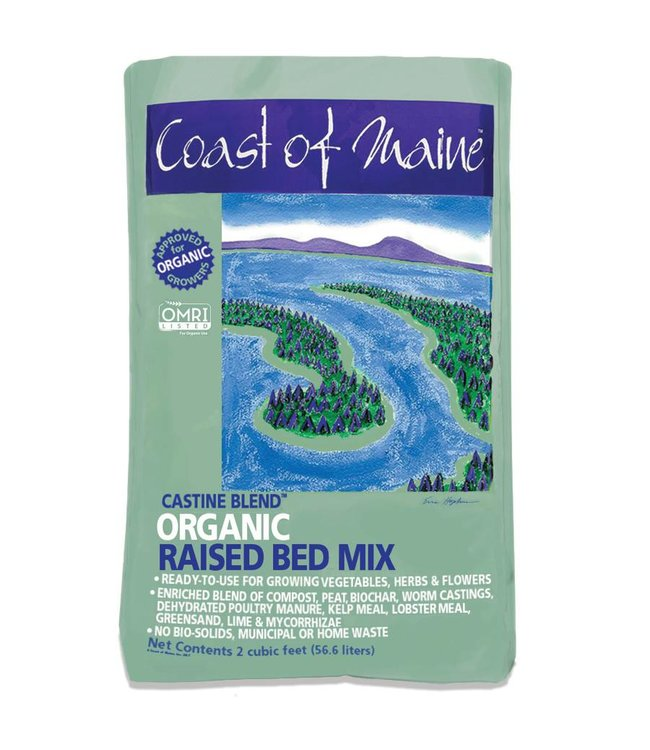 Castine Blend Organic Raised Bed Mix 2 cuft