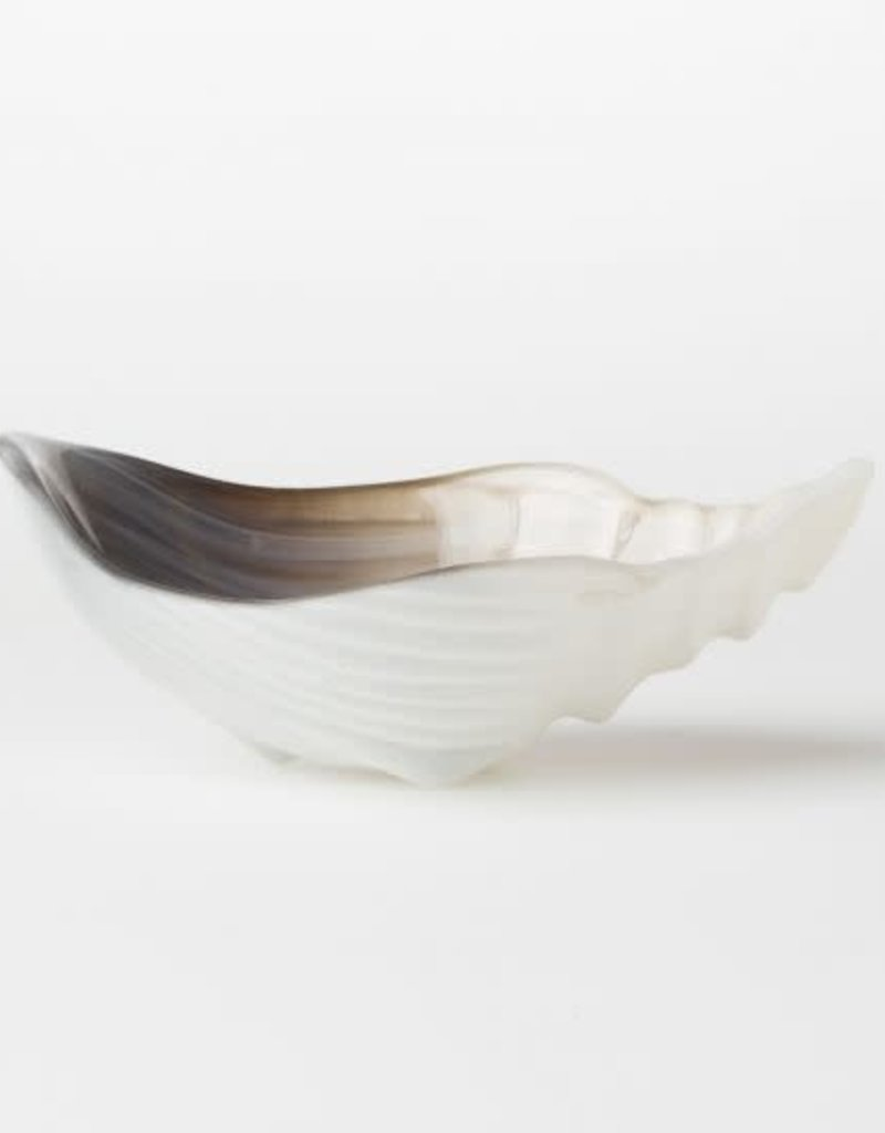 Sabbia Glass Small Conch Shell Bowl