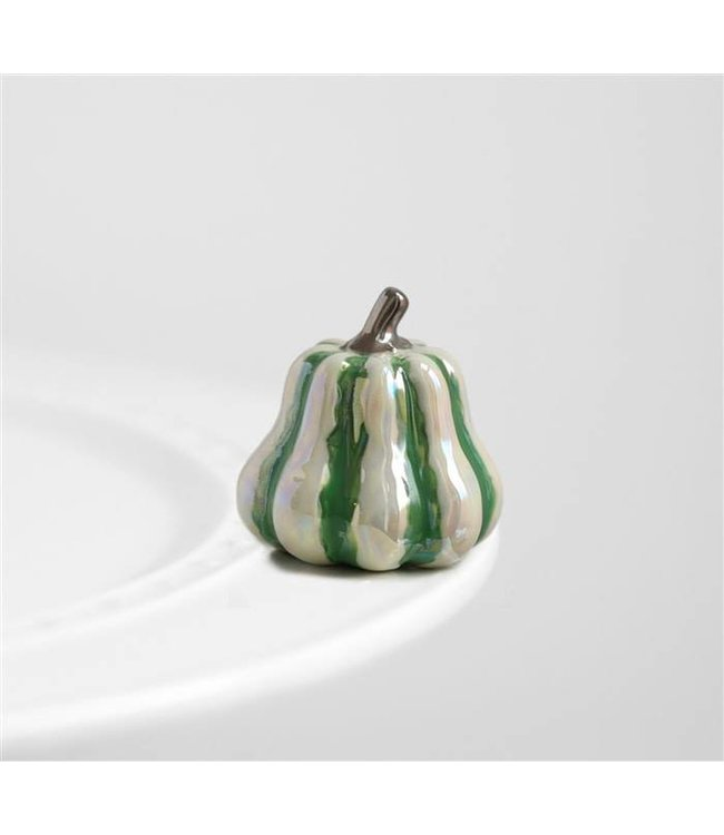 Topper Green Striped Gourd