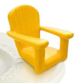 Nora Fleming Topper Beach Chair Yellow