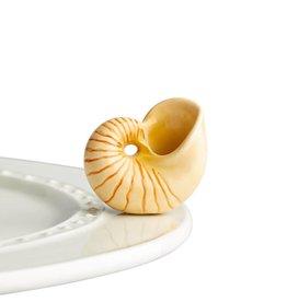 Nora Fleming Topper Seashell