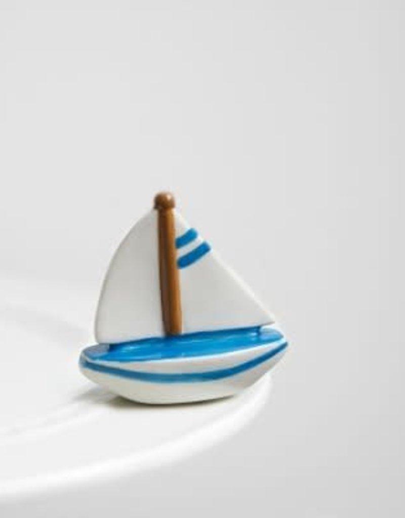 Nora Fleming Topper Sailboat