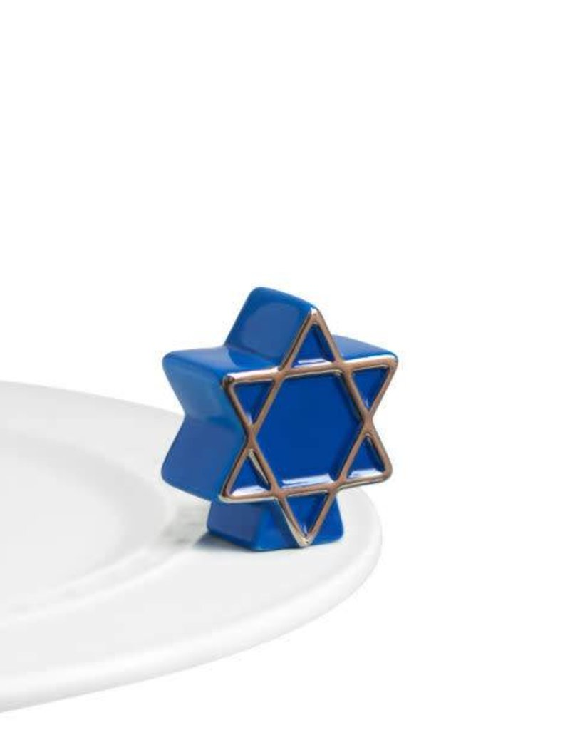 Nora Fleming Star of David Nora Fleming Mini Topper