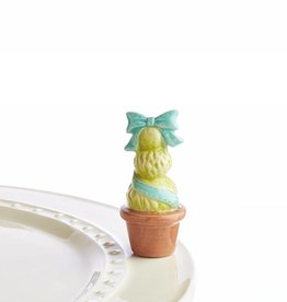 Nora Fleming Topper Topiary Blue