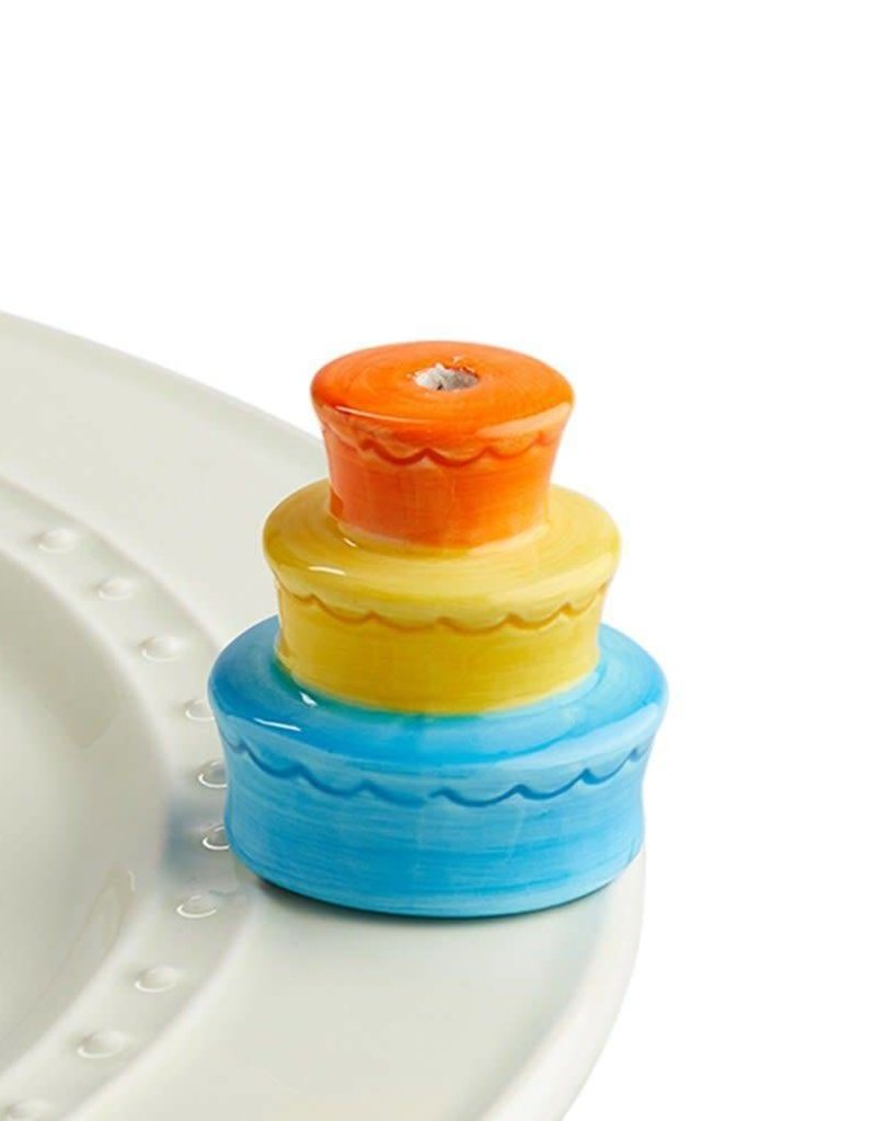 Nora Fleming Topper Birthday Cake/Candle Holder