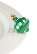 Nora Fleming Topper Green Ornament