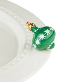 Nora Fleming Topper Green Ornament
