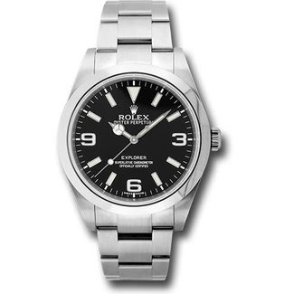 Rolex ROLEX EXPLORER 39MM (2013 B+P) #214270