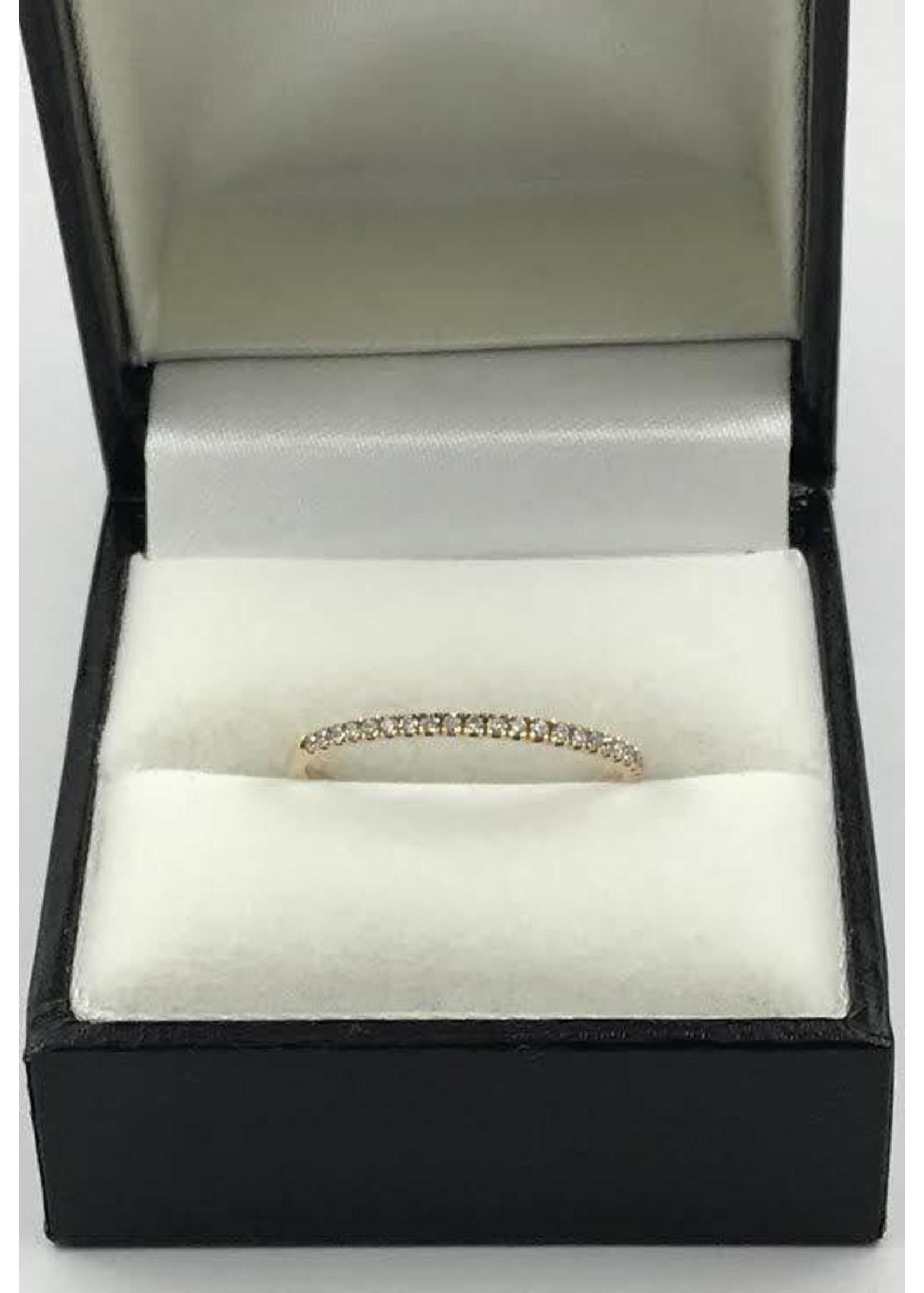 18K ROSE GOLD RING W 1.14CT DIAMONDS