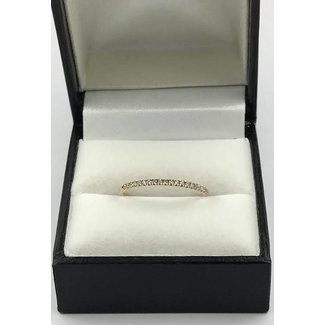18K ROSE GOLD RING W 1.14CT DIAMONDS