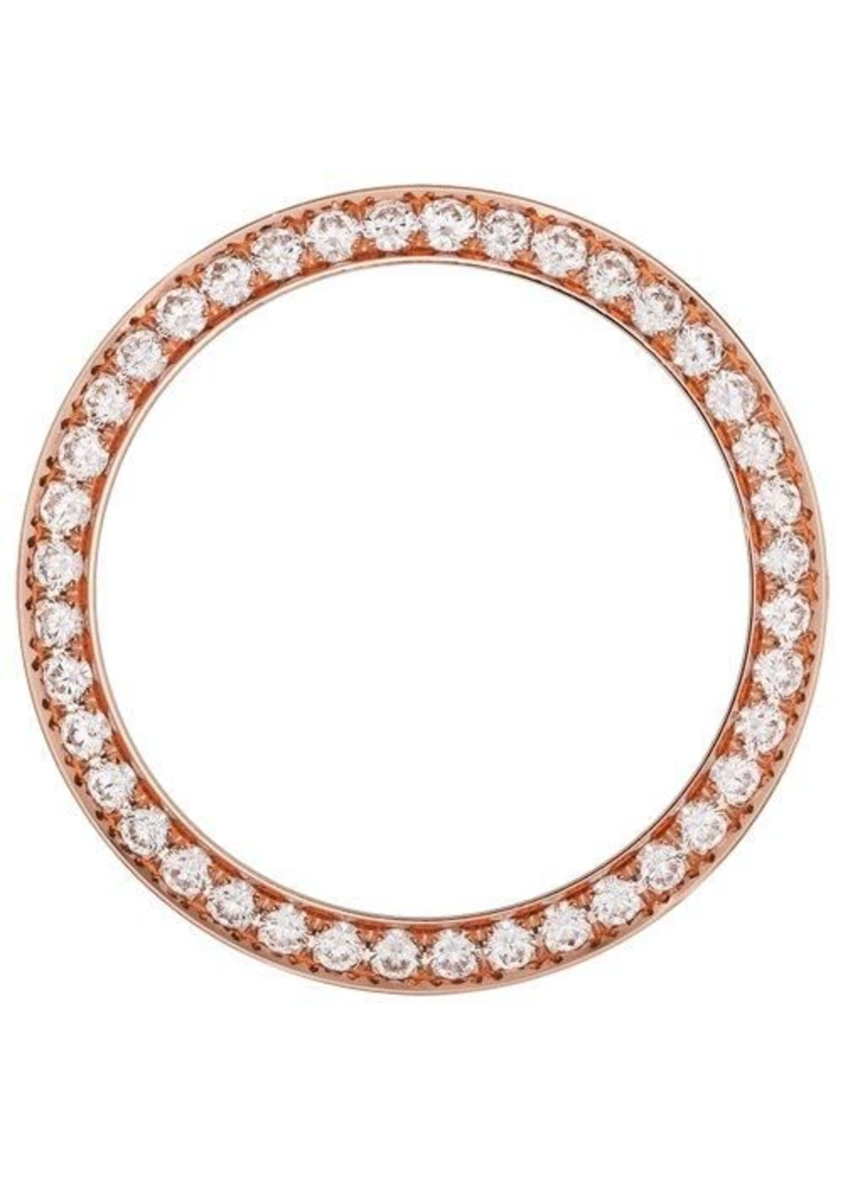 Rolex 3 CT Rolex Rose Gold Diamond Bezel 41MM DD2