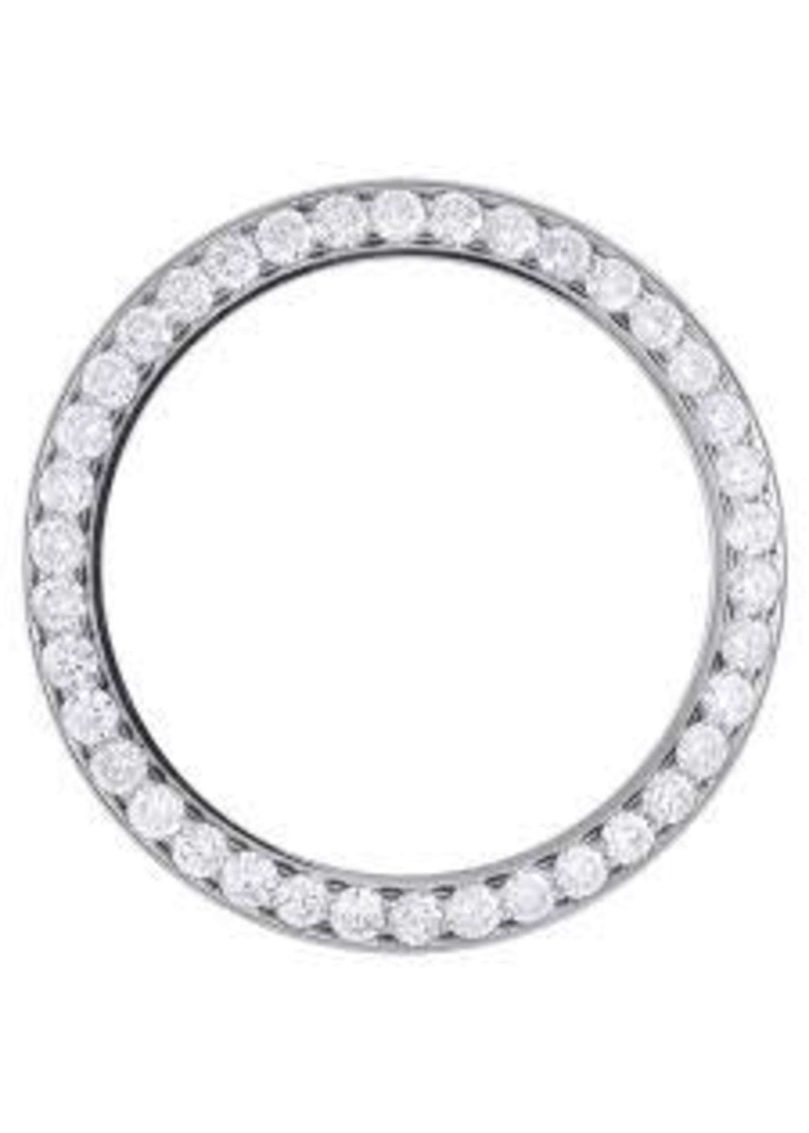 Rolex 3 Ct Diamond Bezel For Rolex Datejust II 41mm ( Steel