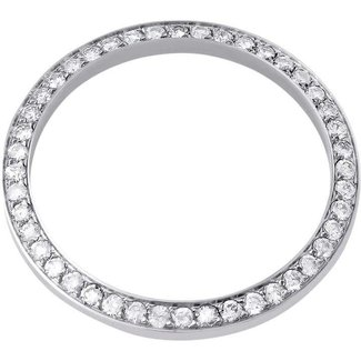 36MM DIAMOND BEZEL WHITE GOLD