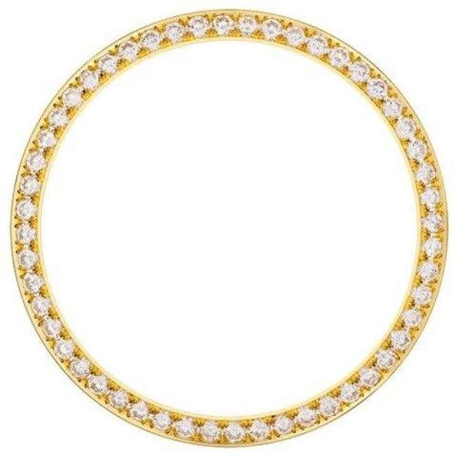 36MM DIAMOND BEZEL YELLOW GOLD
