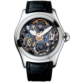 Other Brands Corum Bubble Skeleton XL - Openworked Decorated Movement - Ref. 082.130.20 - 45mm Stainless Steel Corum Bubble Skeleton XL - Openworked Decorated Movement - Ref. 082.130.20 - 45mm Stainless Steel Corum Bubble Skeleton XL - Openworked(2006 B+P) #2120552001