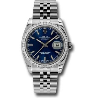 Rolex Rolex 116200 blso Datejust 36MM (2018 B+P)