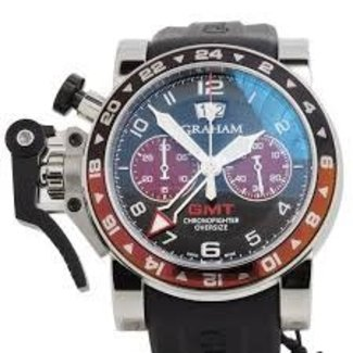 GRAHAM GRAHAM SA OVERSIZED GMT  CHRONOFIGHTER 48MM (2013 B+P)