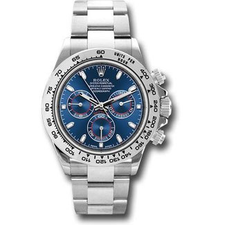 Rolex Rolex Watches: 116509 bli Daytona White Gold - Bracelet (2017) Stickers On Unworn