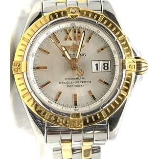 BREITLING WINDRIDER COCKPIT B49350 TWO TONE MENS WATCH