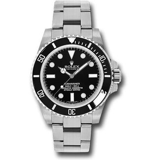 Rolex ROLEX SUBMARINER 40MM NO DATE (2018 B+P) #114060