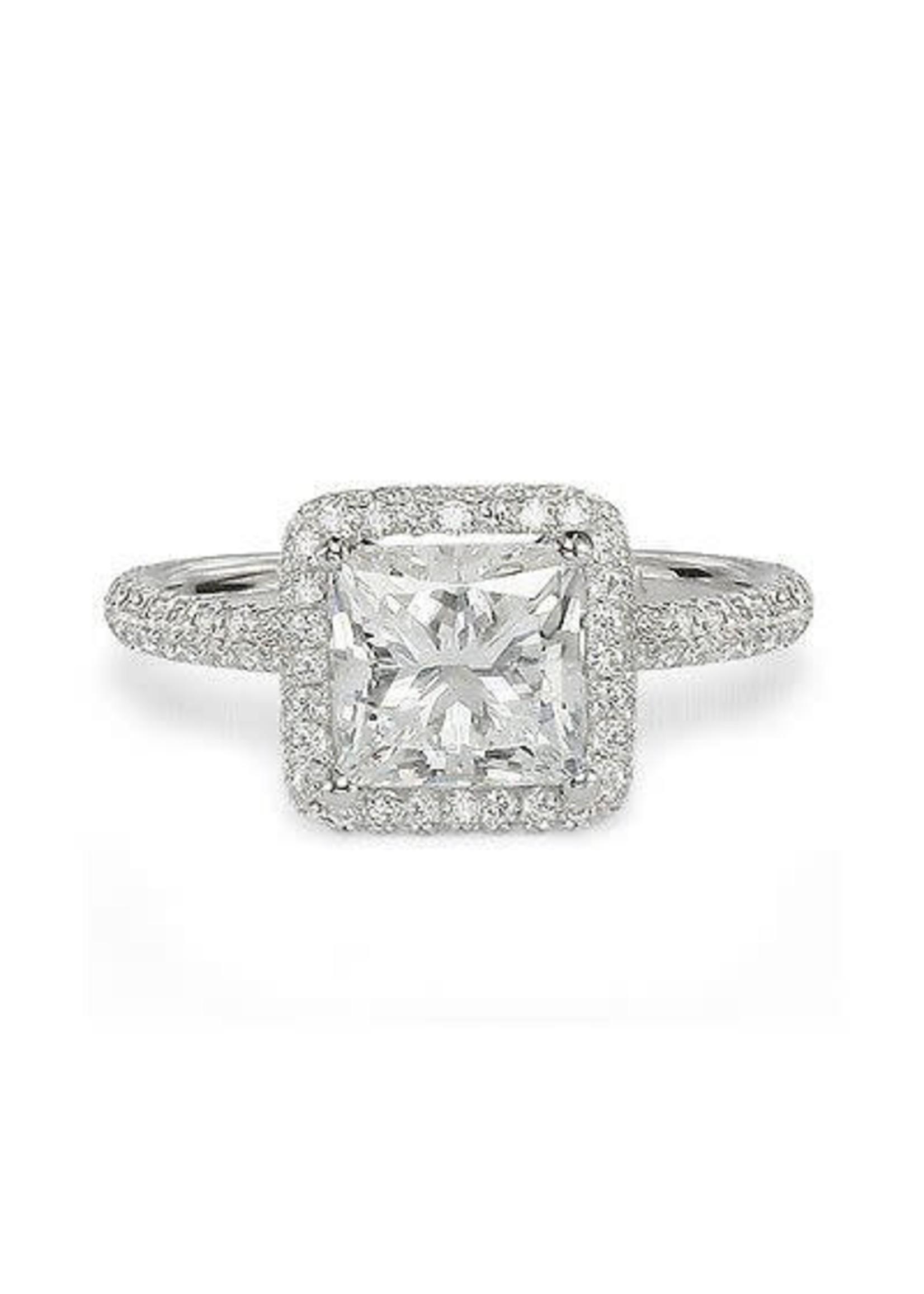 Diamond 1.33 Carat Radiant Loose Diamond, j, SI1,  Certified
