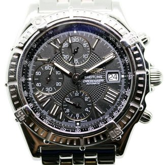 Breitling Breitling Crosswind A13055 Stainless Steel Gray dial 43mm Automatic