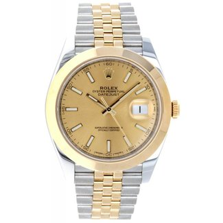 Rolex ROLEX DATEJUST 41MM (2017 B+P) #126303