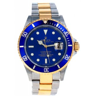 Rolex ROLEX SUBMARINER BLUE 2005 FULL SET