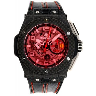 Hublot Hublot 401.QX.0123.VR Big Bang 45mm Ferrari - Carbon (New)