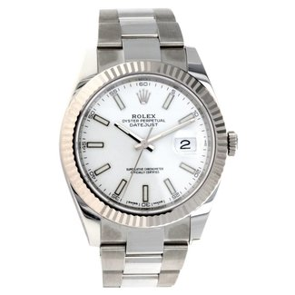 Rolex ROLEX DATEJUST 41MM (2018 B+P) #126334