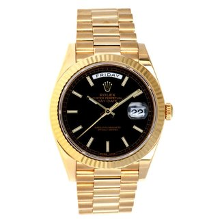 Rolex Rolex Watches: 228238 bkdmip Day-Date 40 Yellow Gold ( 2015 B&P)