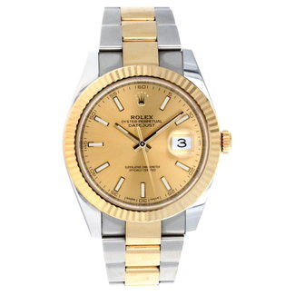 Rolex ROLEX DATEJUST 41MM (2017 B+P) #126333