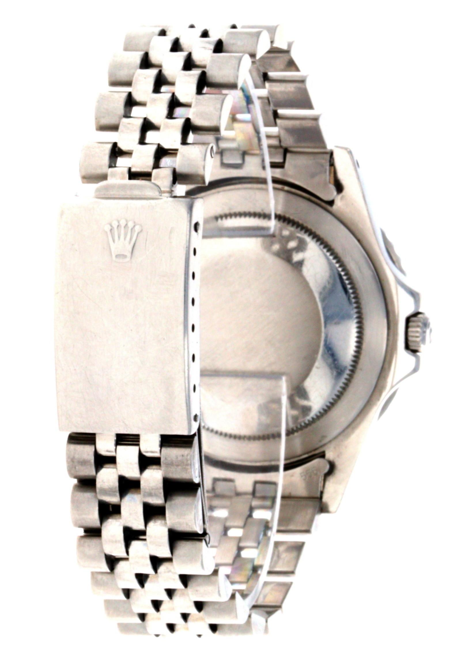 Rolex ROLEX GMT MASTER (1980) #16750 3075 MOVEMENT - #62510H JUBILEE BRACELET (1983)