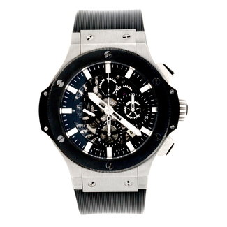 Hublot Hublot Watches - Big Bang 44mm Aero Bang Stainless Steel And Ceramic