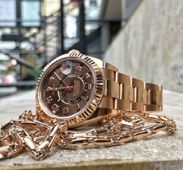How Rolex Everose Is Made