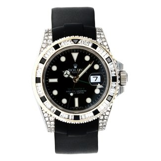 Rolex ROLEX GMT MASTER II ICEDOUT (G SERIAL)