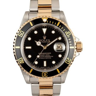 Rolex ROLEX SUBMARINER 2TONE (1990 B+SP)