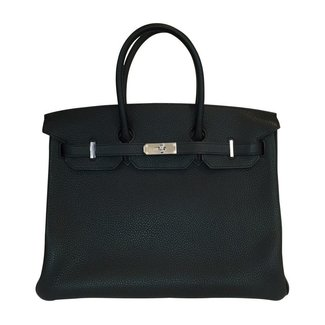 HERMES Hermès Birkin 35 Black Togo Bag
