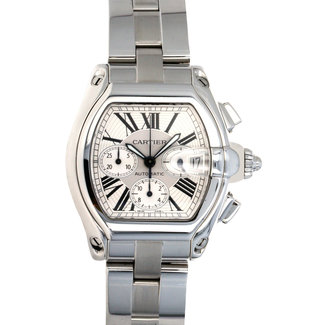 Cartier Cartier Roadster XL Chronograph Stainless Steel Silve