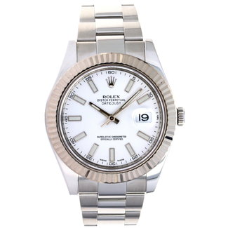 Rolex ROLEX DATEJUST 41MM (B+P)