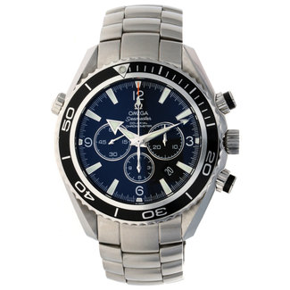 Omega Omega Men's 2210.50.00 Seamaster Planet Ocean Automatic Chronometer Chronograph Watch