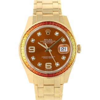 Rolex ROLEX 39MM DATEJUST PEARLMASTER #86348SAJ (2019 B+P)