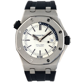 Audemars Piguet AUDEMARS PIGUET DIVER 42MM (2019 B+P) BLUE TRIM, BLUE BAND