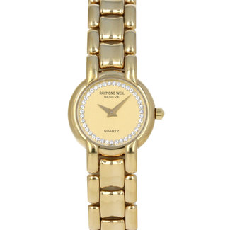 RAYMOND WEIL RAYMOND WEIL 20MM 18K YELLOW GOLD ELECTROPLATED