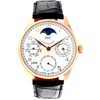 IWC IWC PERPETUAL CALANDER WATCH ROSE GOLD (JUST SERVICED AT IWC 2019) 2 YEAR WARRANTY