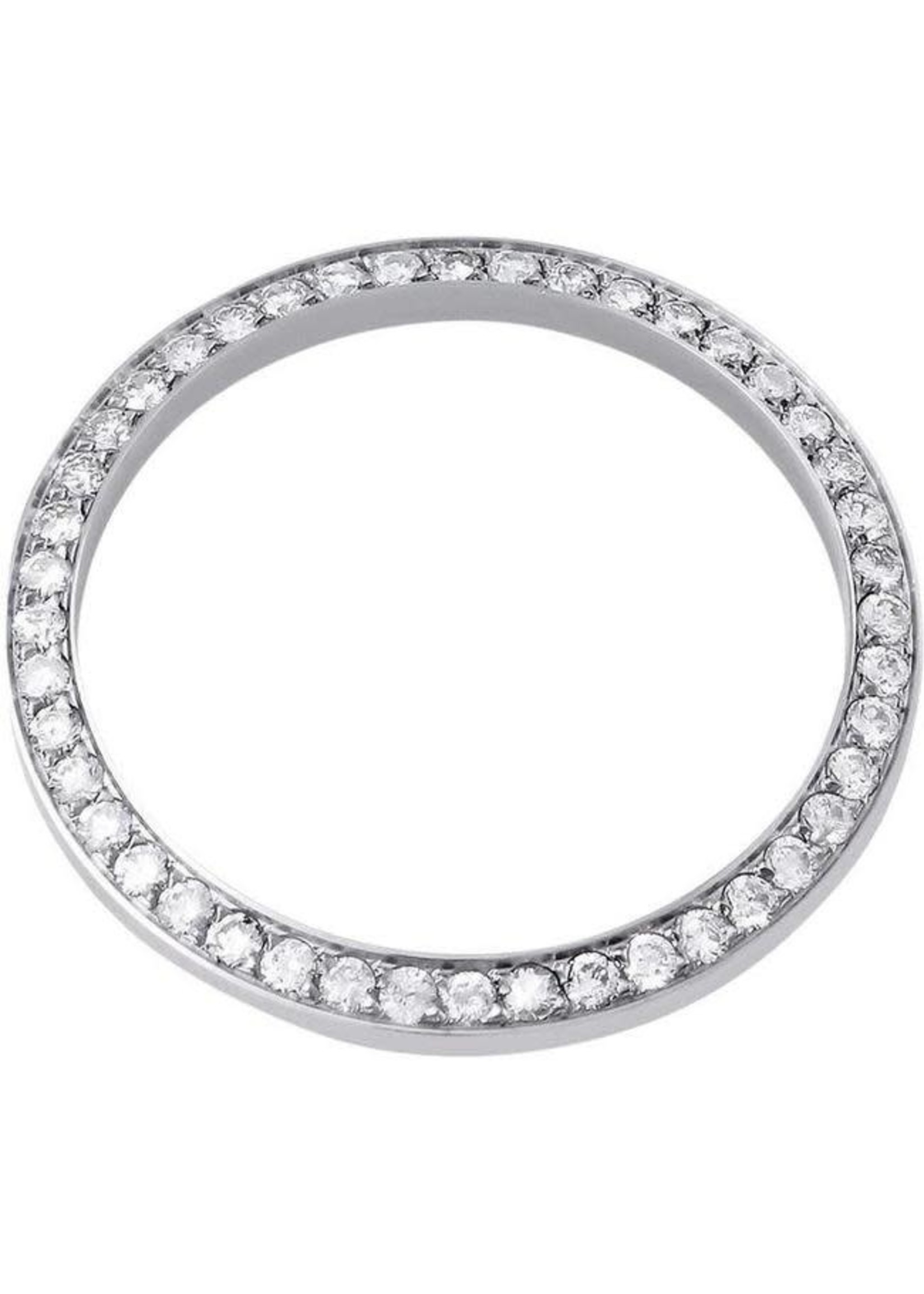 DIAMOND BEZEL 36MM WHITE GOLD