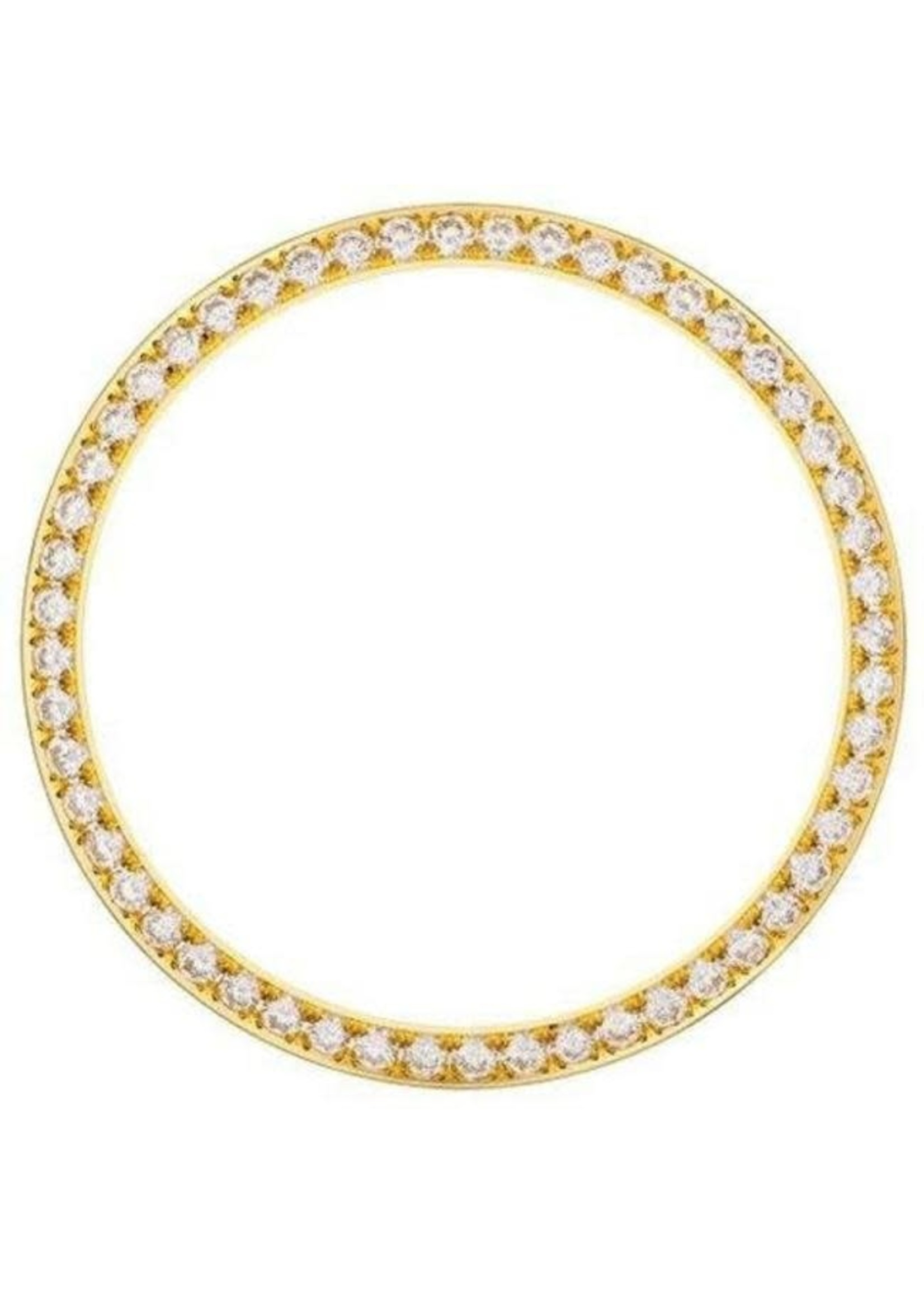 DIAMOND BEZEL 26MM YELLOW GOLD